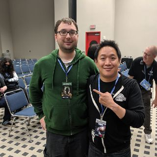 Comicpalooza 2019 - Podcasting With Ming