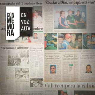 Conmemora en Voz Alta - Secuestro del km 18: 20 años sin olvido