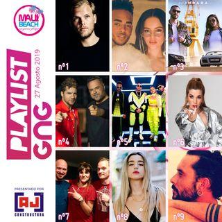 Programa 27 Agosto - PLAYLIST GNG con LAS MEJORES CANCIONES Y LA MEJOR MUSICA DEL MOMENTO - Avicii ft David Guetta Nº1