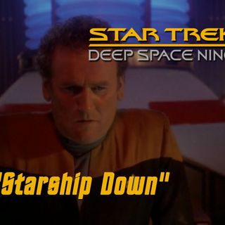 "Season 4, Episode 11 ""Starship Down"" (DS9) with David Mack"