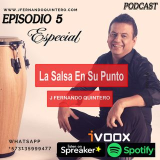 "EPISODIO 5-Especial ""la sagrada salsa"""