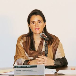 Margarita Ríos-Farjat toma cargo como Ministra