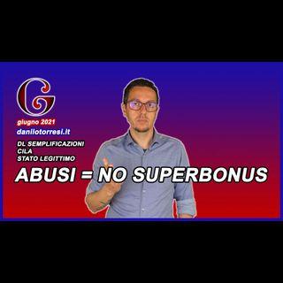 SUPERBONUS 110 CILA e Abusi Edilizi