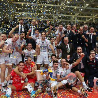 Da Radio Dolomiti: ultimi punti Finale Supercoppa Italiana 2013 - Trento-Macerata 3-0 a Trento