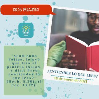 18 de enero - ¿Entiendes lo que lees? - Etiquetas Para Reflexionar - Devocional de Jóvenes