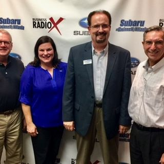 SIMON SAYS, LET'S TALK BUSINESS: Jennifer Fennell with Jackson EMC, Bill McDermott with McDermott Financial Solutions, and Gregg Burkhalter