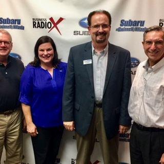SIMON SAYS, LET'S TALK BUSINESS: Jennifer Fennell with Jackson EMC, Bill McDermott with McDermott Financial Solutions, and Gregg Burkhalter