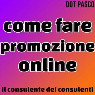 Consulente Marketing - Come fare promozione online? - Dot Pasco