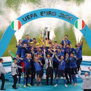 L'Italia batte l'Inghilterra: è campione d'Europa