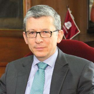 José Alejandro Cheyne se posesionó como rector en la Universidad del Rosario