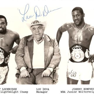Legends of Boxing Show:Former WBA Welterweight Champion Johnny Bumphus