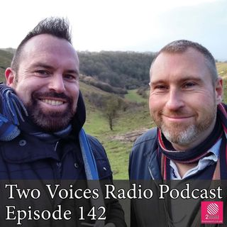 Back of your head, flying ants, haircuts, Bullseye. Two Voices Radio Podcast EP 142