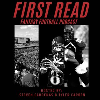 Travis Kelce, Justin Herbert, & Way Too Early Projections: AFC West! - First Read Fantasy Football Podcast