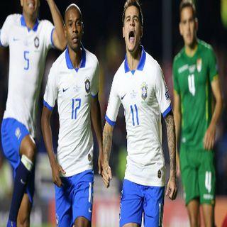Copa America - Il Brasile ricomincia da tre!