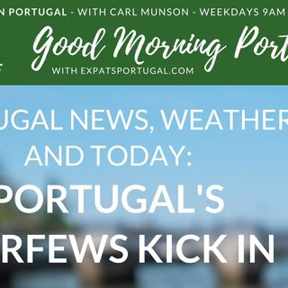(Partial) Portugal curfew kicks in...