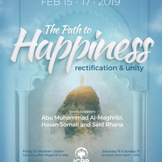 ICPB Seminar - The Path to Happiness