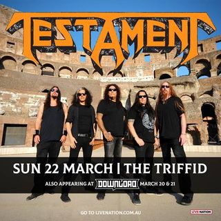 TESTAMENT Interview