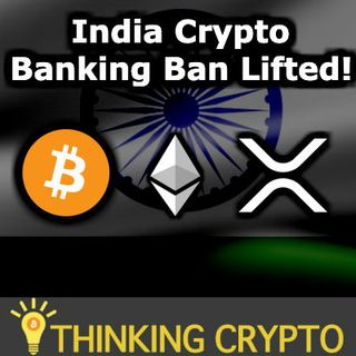 India CRYPTO Banking Ban Lifted - HTC 5G Router Bitcoin Node - Ethereum DeFi Baseline Protocol - PwC Cardano