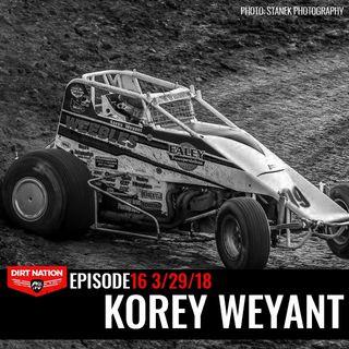 3/29/18 Episode 16 Korey Weyant
