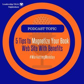 Book Marketing Using Your Website   Lakeisha McKnight