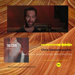 Chris Diamantopoulos Voicing Steve Trevor