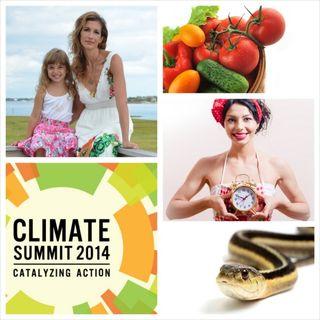 Climate Week, OITNB's Alysia Reiner +