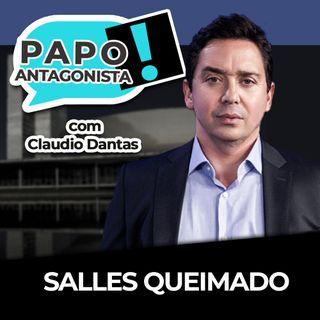 Salles queimado - Papo antagonista com Claudio Dantas