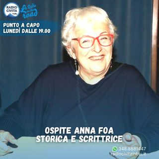 Intervista ad Anna Foa, scrittrice e docente 25/01/2021