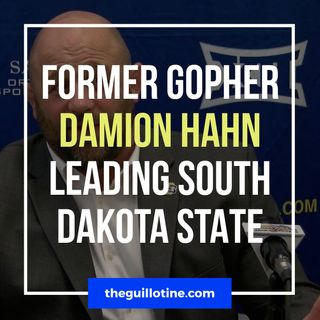 Former Gopher Damion Hahn now leading South Dakota State - GG51