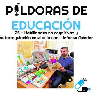 PDE25 - Habilidades no cognitivas y autorregulación en el aula, con Ildefonso Méndez