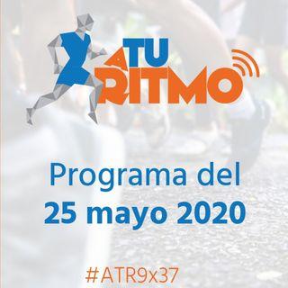 ATR 9X37 -  El riesgo de contagio si corremos en grupo y el sector minorista del running tras el coronavirus