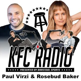 Rosebud Baker, Paul Virzi, and the Rubber Pussy Bucket Cup
