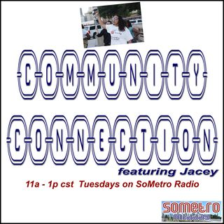 Community Connection Radio Show ft Jacey S3E12 November 1 2016 Get out and vote!