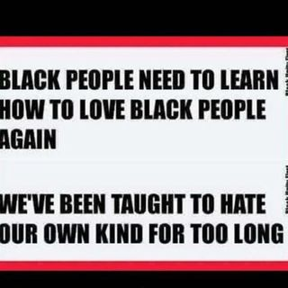 Why Do Black People Hate on Each-Other