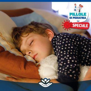 Nuovo Coronavirus, guida al sonno dei bambini