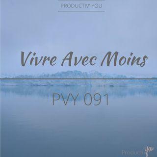 Vivre Avec Moins - PVY091