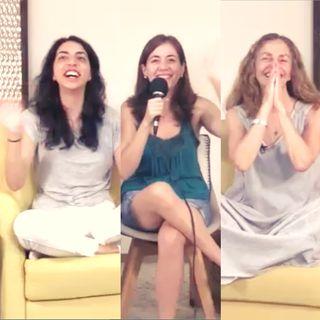 """Sesión de clausura  """"Lecciones de Amor"""" EL REGALO DE DAR con Marina Colombo, Ana Paola Urrejola y Ana Cecilia Gonzales Vigil"""