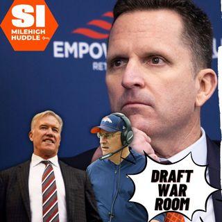 HU #678: War Room | Broncos' Round 1 Reaction | Patrick Surtain II