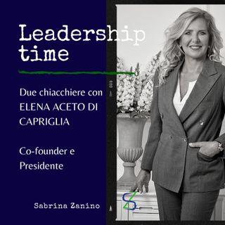 Due chiacchiere con Elena Aceto, co-founder e presidente
