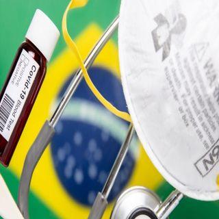 Brasil reporta cuatro millones 315 mil 687 de contagios acumulados por Covid-19
