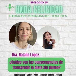 OCO45- ¿Cuáles son las consecuencias de transgredir la Dieta Sin Gluten? Con la Dra. Natalia López