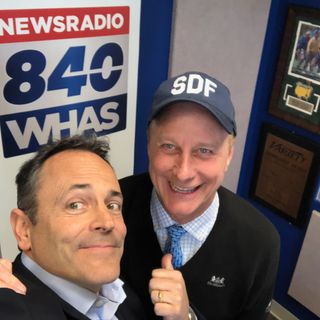 Matt Bevin dropped-by the studio to talk pensions and the 2019 election