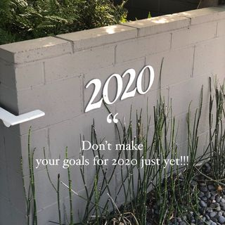 Episode 21 - Don't make your goals for 2020 just yet!!