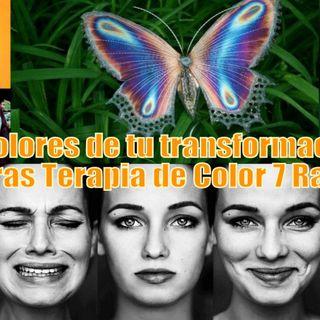 #92 Los Colores de tu transformación (7 rayos, Chakras, Terapia de Color)