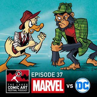 Episode 37- Clockwork Watch Returns plus Marvel vs DC