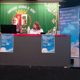 H files 34 - Conferencia Magallanes y Elcano, 500 años de la primera vuelta al mundo (parte I) en la UAM por A. Sánchez y J.R. Vallespín, or