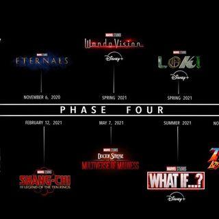 El Futuro del Universo Cinematográfico de Marvel y la Fase 4