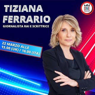 Tiziana Ferrario, giornalista RAI, presenta il suo nuovo libro
