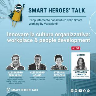 Innovare la cultura organizzativa: workplace & people development