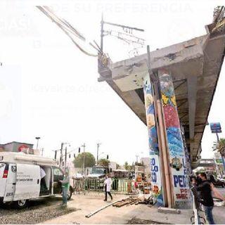 A un mes del colapso de la Línea 12 del Metro.